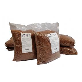Lecho de fibra de coco