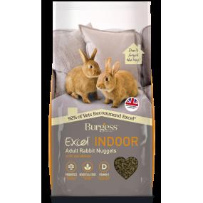Pienso Burgess Excel Conejo Indoor 1,5Kg