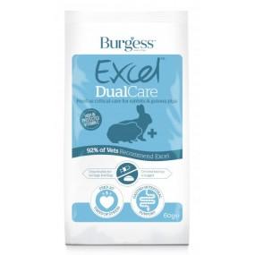 Suplemento Burgess Excel Conejo-Cobaya Dual Care 60g
