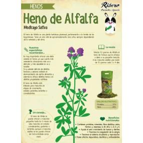 Heno Natural Ribero de Alfalfa ficha