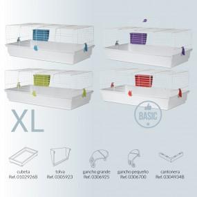 Jaula Voltregá Básica Tamaño XL - 101 x 55 x 40cm accesorios
