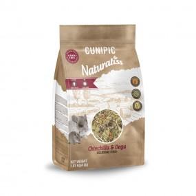 Mixtura Cunipic Naturaliss Chinchilla y Degú 1,8kg