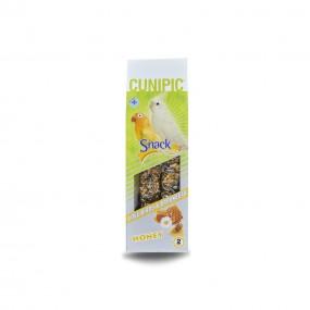 Snack Cunipic Barritas Deluxe Ninfa y Agaporni Miel