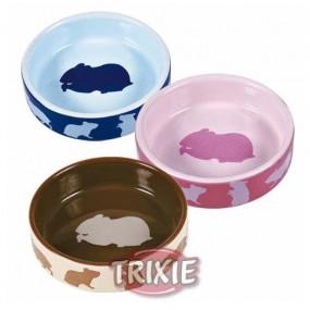 Comedero Trixie Cerámica Roedores de Colores 80ml