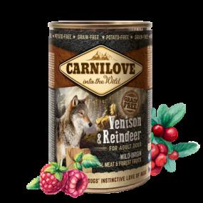 Comida Húmeda Carnilove Perro Adulto Lata Venado y Reno
