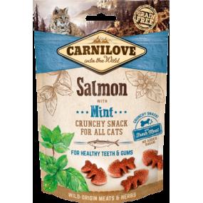 Snack Carnilove Gato Salmón y Menta 50gr