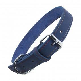 Collar Gloria Nobuk de Piel Tamaño L ø55cm azul