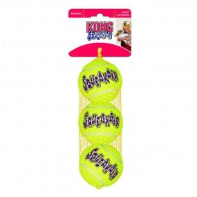 Juguete Kong SqueakAir Balls Tamaño M (Pack 3)