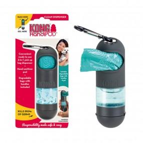 Dispensador Kong HandiPod 15 Bolsas + Gel desinfectante