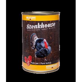 Comida Húmeda MeatLove Perro Adulto SteakHouse Lata Pavo