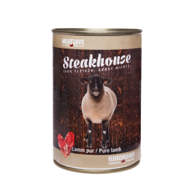 Comida Húmeda MeatLove Perro Adulto SteakHouse Lata Cordero
