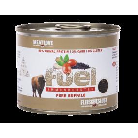 Comida Húmeda MeatLove Perro Adulto Fuel Lata Búfalo 200gr