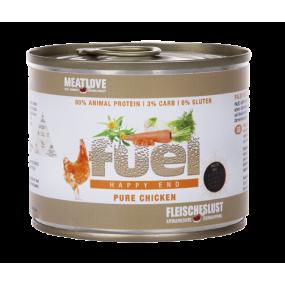 Comida Húmeda MeatLove Perro Adulto Fuel Lata Pollo 200gr