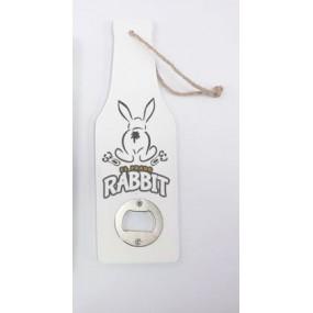 Abridor Murielle Colección Rabbit Pequeño Blanco