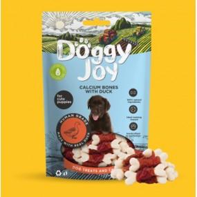Snack Doggy Joy Huesos de Calcio con Pato 90gr