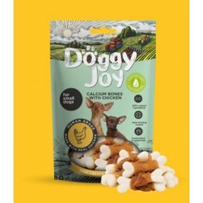 Snack Doggy Joy Huesos de Calcio con Pollo 55gr