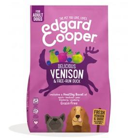 Pienso Edgard & Cooper Perro Adulto Venado y Pato envase