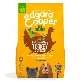 Pienso Edgard & Cooper Perro Adulto Bio Pavo y Pollo envase