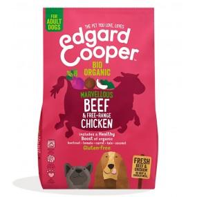 Pienso Edgard & Cooper Perro Adulto Bio Ternera y Pollo envase
