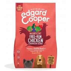 Pienso Edgard & Cooper Perro Senior Pollo y Salmón envase