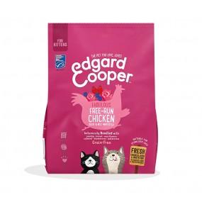 Pienso Edgard & Cooper Gato Adulto Pollo, Pato y Pescado envase