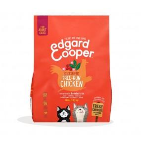 Pienso Edgard & Cooper Gato Adulto Pollo de Corral envase