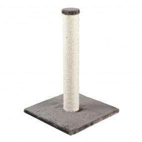 Rascador Trixie Poste con Sisal y Base de Felpa 62cm Gris