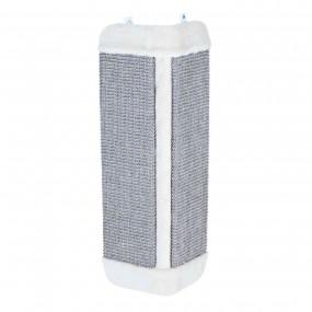 Rascador Trixie Tabla Esquina de Sisal y Felpa 32x60cm Gris