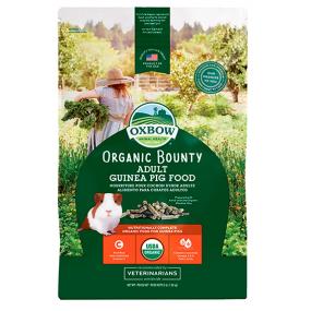 Pienso Oxbow Organic Bounty Cobaya Adulta 1,36kg