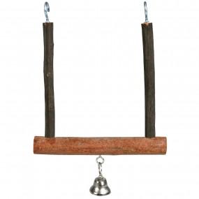 Columpio Trixie Natural Living con campanilla 12 x 15cm