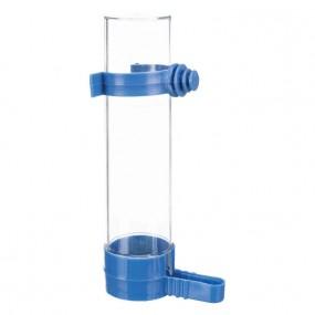 Bebedero Comedero Trixie Para pájaros 130ml azul