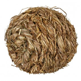Pelota de hierba con cascabel