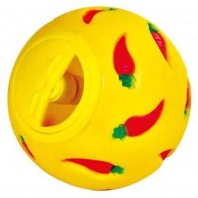 Juguete Interactivo Trixie Pelota para snacks amarilla